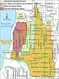 seattle flood map werf completes innovative sewer rehabilitation research