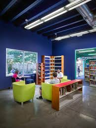 Library Interior Design Sharpsburg Library Makes An Impression Thanks To Colorful Design