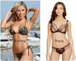 pubic hair panties what is the difference between wearing a thong and a g string quora