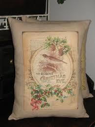 christmas pillow u0027twas the night before christmas poem