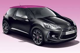 pink and black cars color me u2026 pink citroen celebrates 100 000 ds3 sales with new