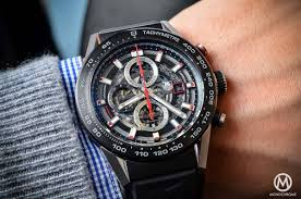 carrera watches a look at the tag heuer carrera calibre heuer 01 specs u0026 price