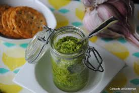 cuisine avec les restes ca bouffe un doberman pesto vert d oignons nouveaux je cuisine