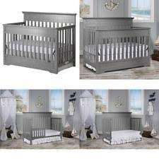 Side Rails For Convertible Crib On Me Chesapeake 5 In 1 Convertible Crib Grey