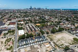 new single family and rowhomes in a new bridgeport neighborhood
