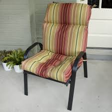 High Back Patio Chair Cushions Clearance Chair Lawn Furniture Cushions Garden Chair Seat And Back Pads