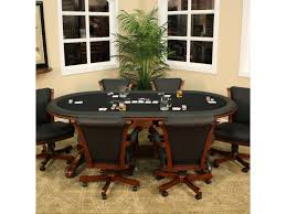 Poker Table Chairs With Casters by Poker Table Chairs With Casters Home Chair Decoration