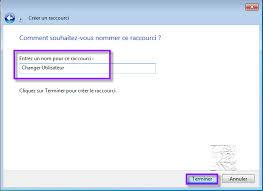 raccourci bureau windows 7 raccourci changer d utilisateur sous windows 7 editions