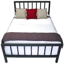 Metallic Bed Frame Spindle Steel Bed Frame Boltz Steel Furniture