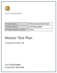 test plan software testing fundamentals