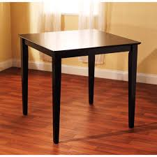 Counter Height Dining Table Black Walmartcom - Counter height dining table in black