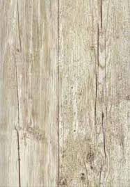 weathered wood plank wallpaper like this for a weathered look
