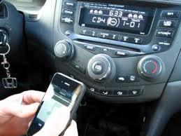2003 honda accord radio for sale gta car kits honda accord 2003 2007 install of iphone ipod and