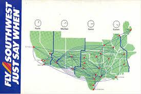 swa route map southwest announces post wright amendment destinations at dallas