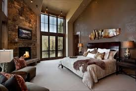 bedroom comfortable black structure stone laminated fireplace in