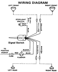 turn signal flasher wiring diagram kwikpik me