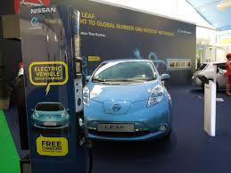 nissan leaf free charging charging europe