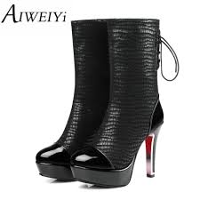 grey biker boots ladies compare prices on cowboy ladies boots online shopping buy low
