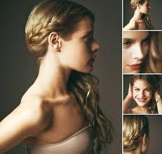 Hochsteckfrisurenen Selber Machen Mittellange Haar Einfach by Lange Haare Selbst Hochstecken