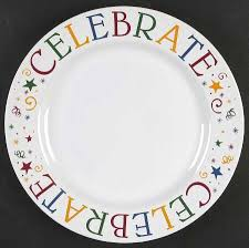 celebrate plate pered chef celebrate at replacements ltd