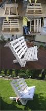 Easy Diy Patio Furniture by 27 Stunning Outdoor Pallet Furniture Ideas You U0027ll Love White