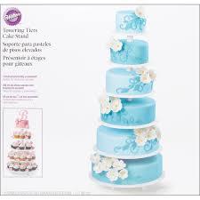 cake tier wilton 6 tier towering cake stand reviews wayfair