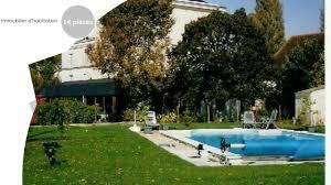 chambre d hote indre et loire vente chambres d hotes ou gite à indre et loire 14 pièces 268 m2