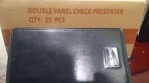 guest check presenters free restaurant check holder ebay