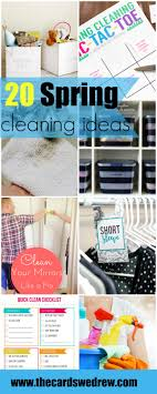 cleaning ideas 20 spring cleaning ideas