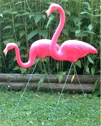 pink flamingo garden decoration flamingo yard decorations large pink