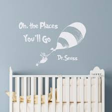popular kids wall stickers boys quotes buy cheap kids wall dr seuss quotes oh the places you ll go wall decals nursery wall stickers for