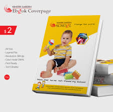 Cover Page Template Kindergarten Ebook Cover Page Template Free U0026 Premium