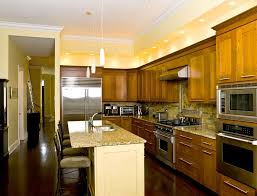 Kitchen Soffit Lighting Soffit With Recessed Lighting Kitchen Traditional With Wood