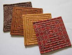 string block quilted coasters mug rugs small quilt projects are