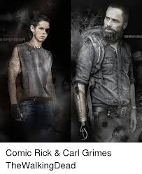 Rick And Carl Meme - igiferpeffesklu gieerpeffesklupp comic rick carl grimes