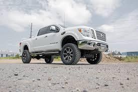 nissan titan u joint 6in suspension lift kit for 16 17 4wd nissan titan xd pickups