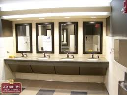 Commercial Bathroom Vanities by Standoff Bathroom Mirrors Commercial Lighting Ada Mirror For