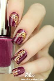 nails design galerie 69 best autumn nails fall nail design tutorial by nded