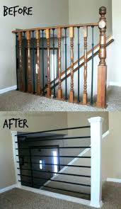 metal banister ideas stairs and railing banister ideas interior modern metal stair