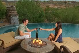 Backyard Propane Fire Pit by Oriflamme Gas Fire Pit Tropical Elegance Propane Fire Tables