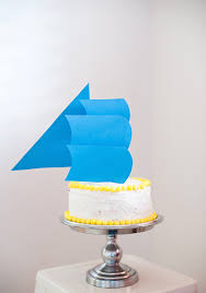 boat cake topper sail boat party hats a subtle revelry