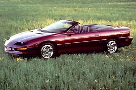 2000 t top camaro 1993 02 chevrolet camaro consumer guide auto