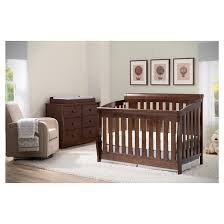 Baby Bed Attached To Parents Bed Delta Children Clermont 4 In 1 Convertible Crib Target