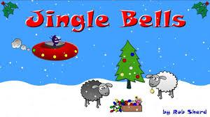jingle bells funny christmas cartoon u0026 song alien sheep xmas