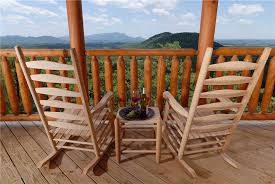 Wooden Chairs For Rent 4 Things That Make Our Cabins In The Smokies For Rent The Best