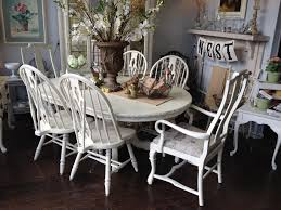 Painted Dining Table by White Chalk Paint Dining Table Dining Table French Linen Chalk