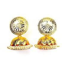 gold jhumka earrings design gold jhumkas manufacturers suppliers of gold jhumka gold jhumki