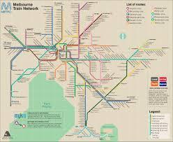 melbourne tram map melbourne rail map 2070