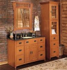 Mission Style Bathroom Vanity by Bathroom Home Design Ideas