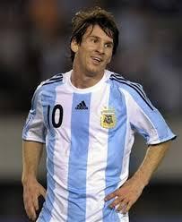 Leo Messi contra Espana